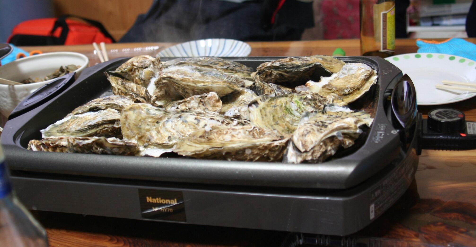 GWに牡蠣パーティーはいかがでしょうか