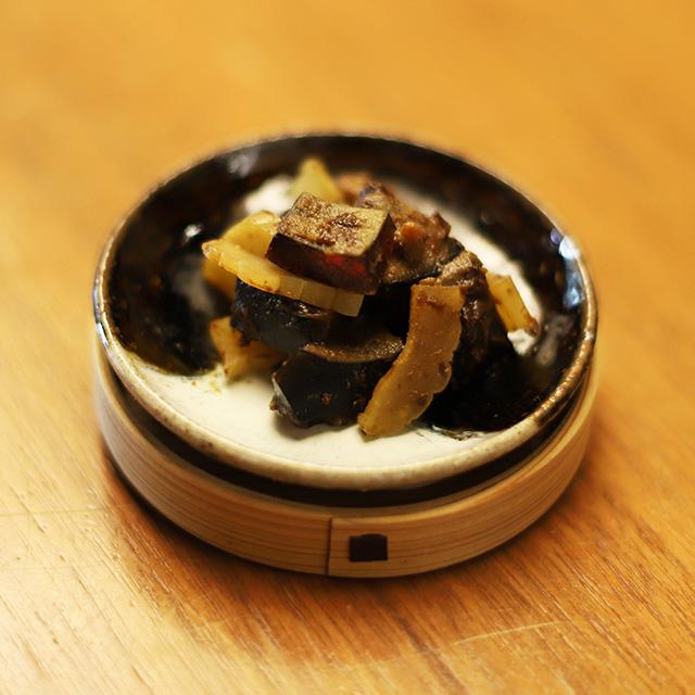 酒喜惣菜レシピ「ピータンの登龍味噌漬け 」
