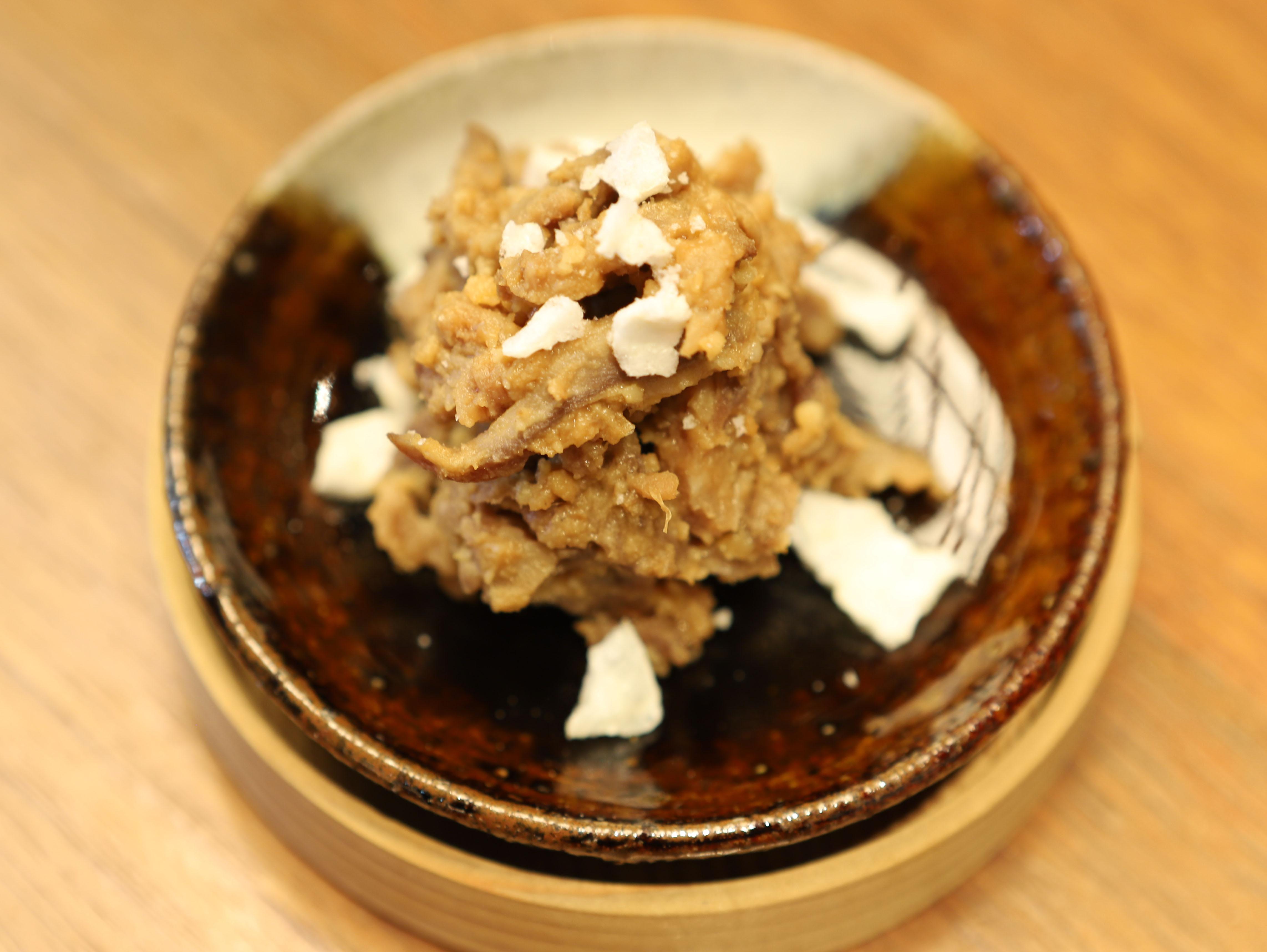 酒喜惣菜レシピ「住吉肉みそ」