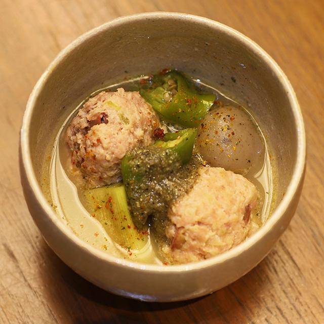 酒喜惣菜レシピ「鶏つくねビア煮込み 」