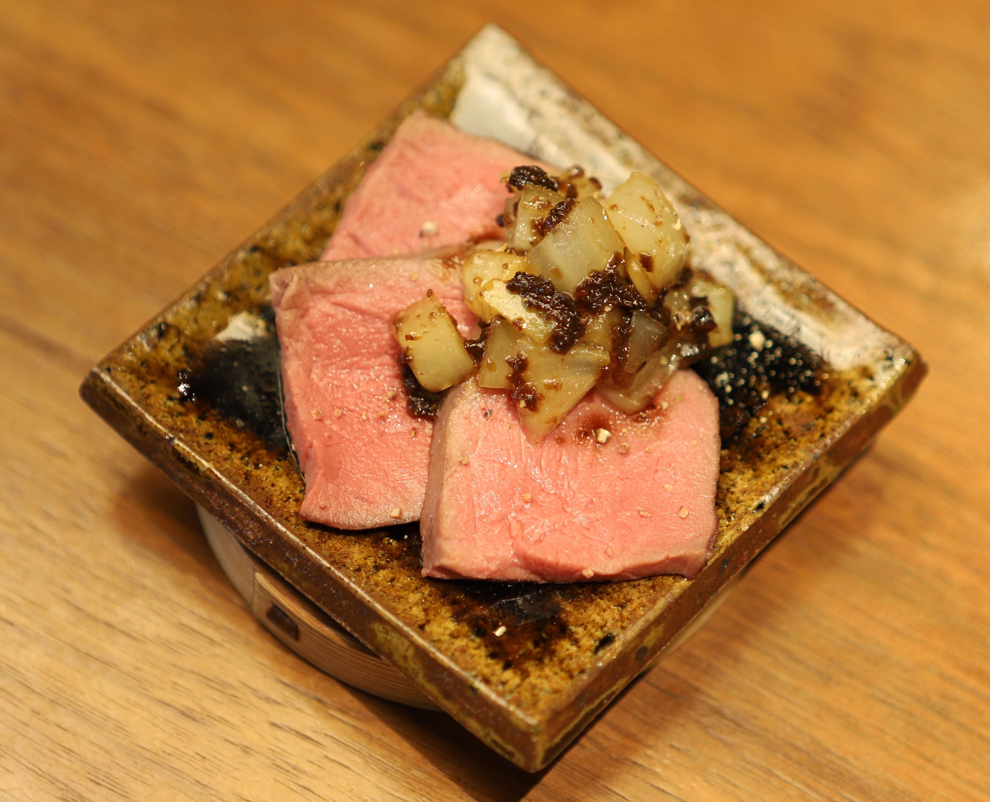 酒喜惣菜レシピ「蒸し土佐あかうし」