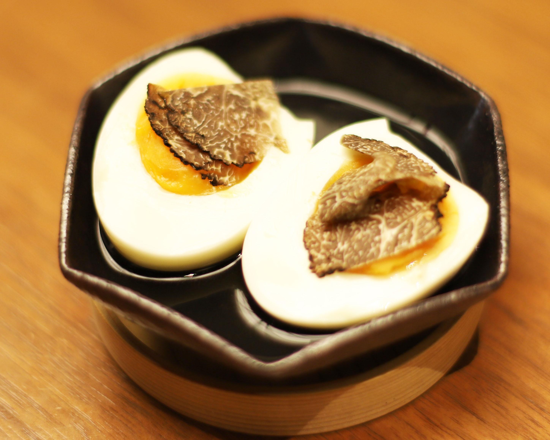 酒喜惣菜レシピ「トリュフ玉子(塩おでん)」