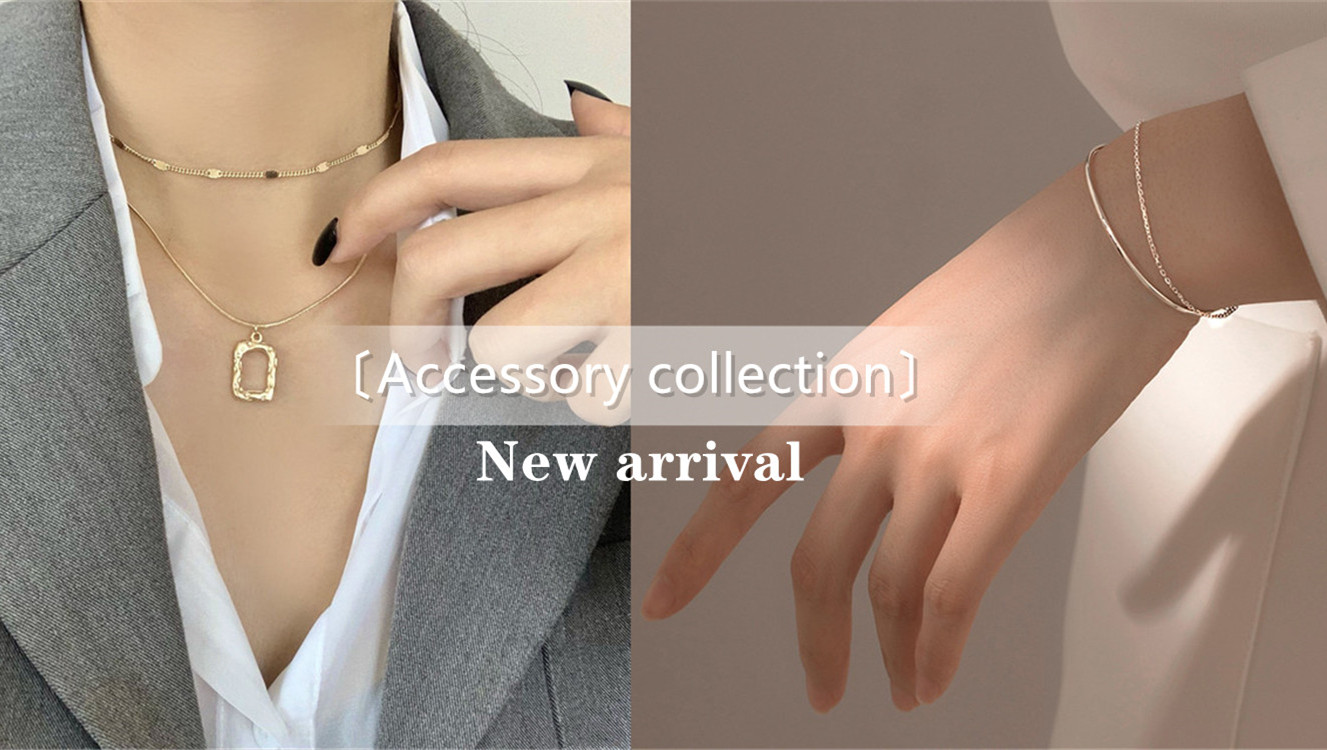 〔Accessory collection〕新作アクセサリー紹介