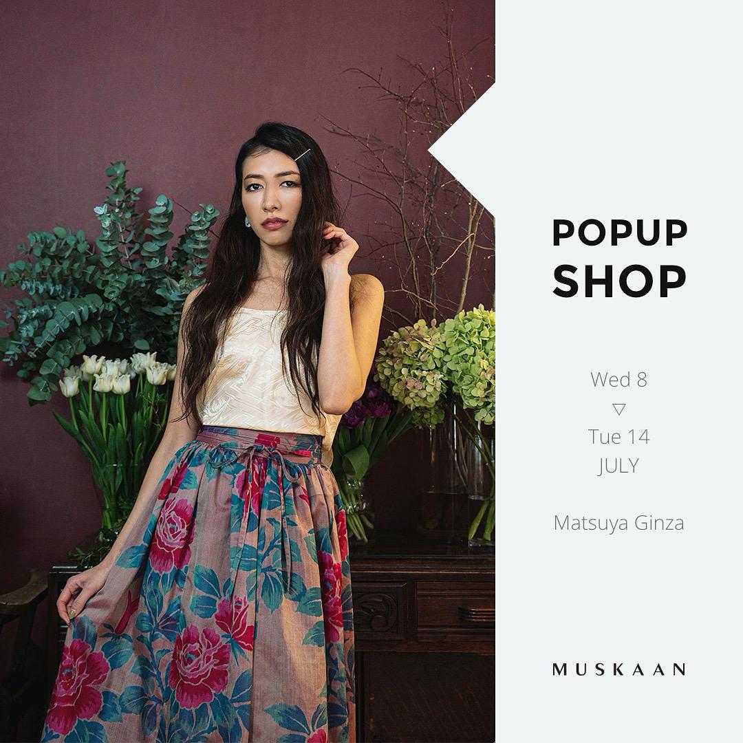【POP-UP】松屋銀座本店にて期間限定出店