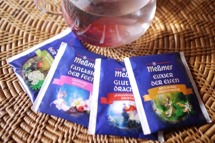 ドイツハーブティー 冬のお茶がとどきました。