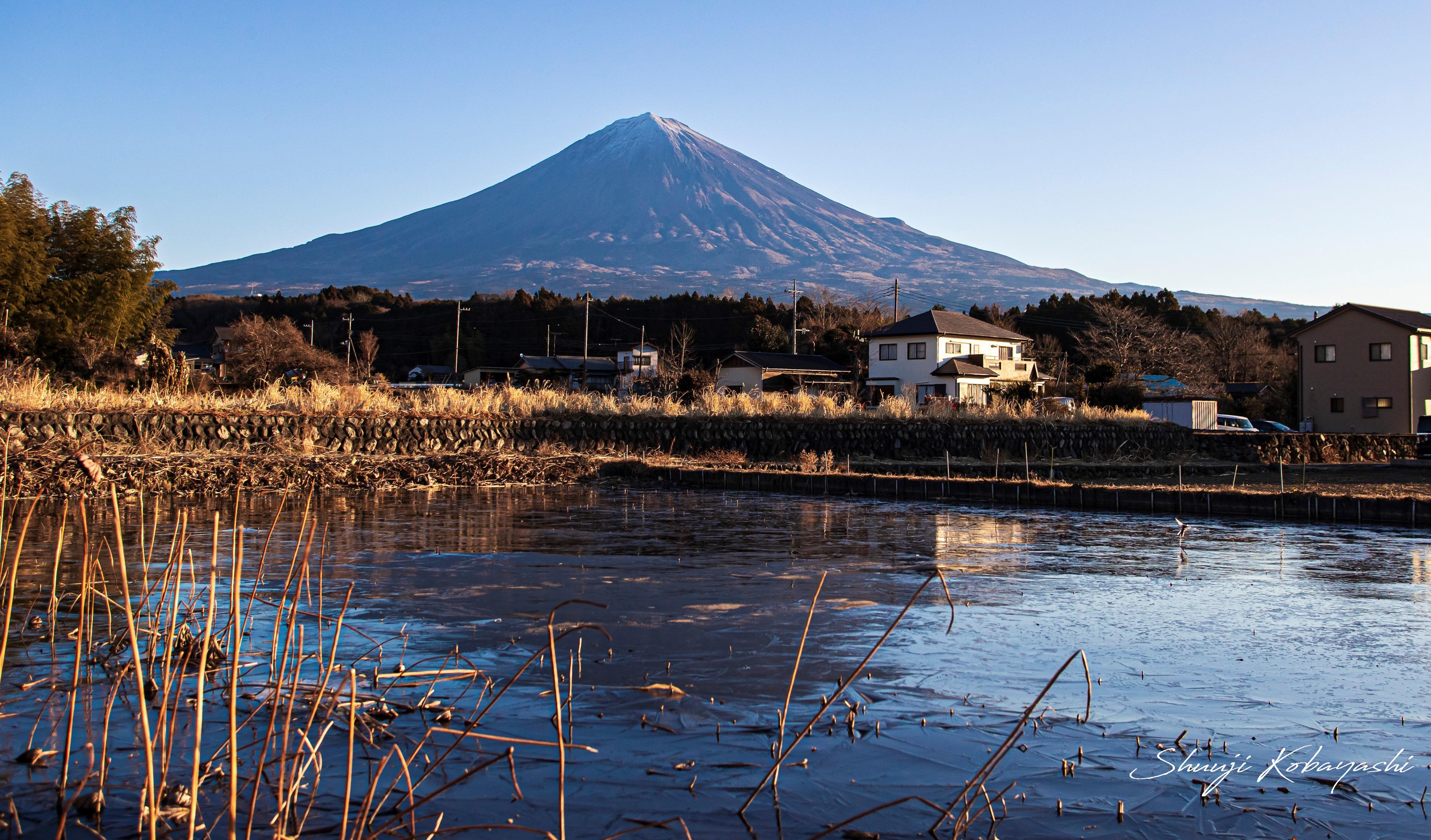 昨日の富士山の様子です。