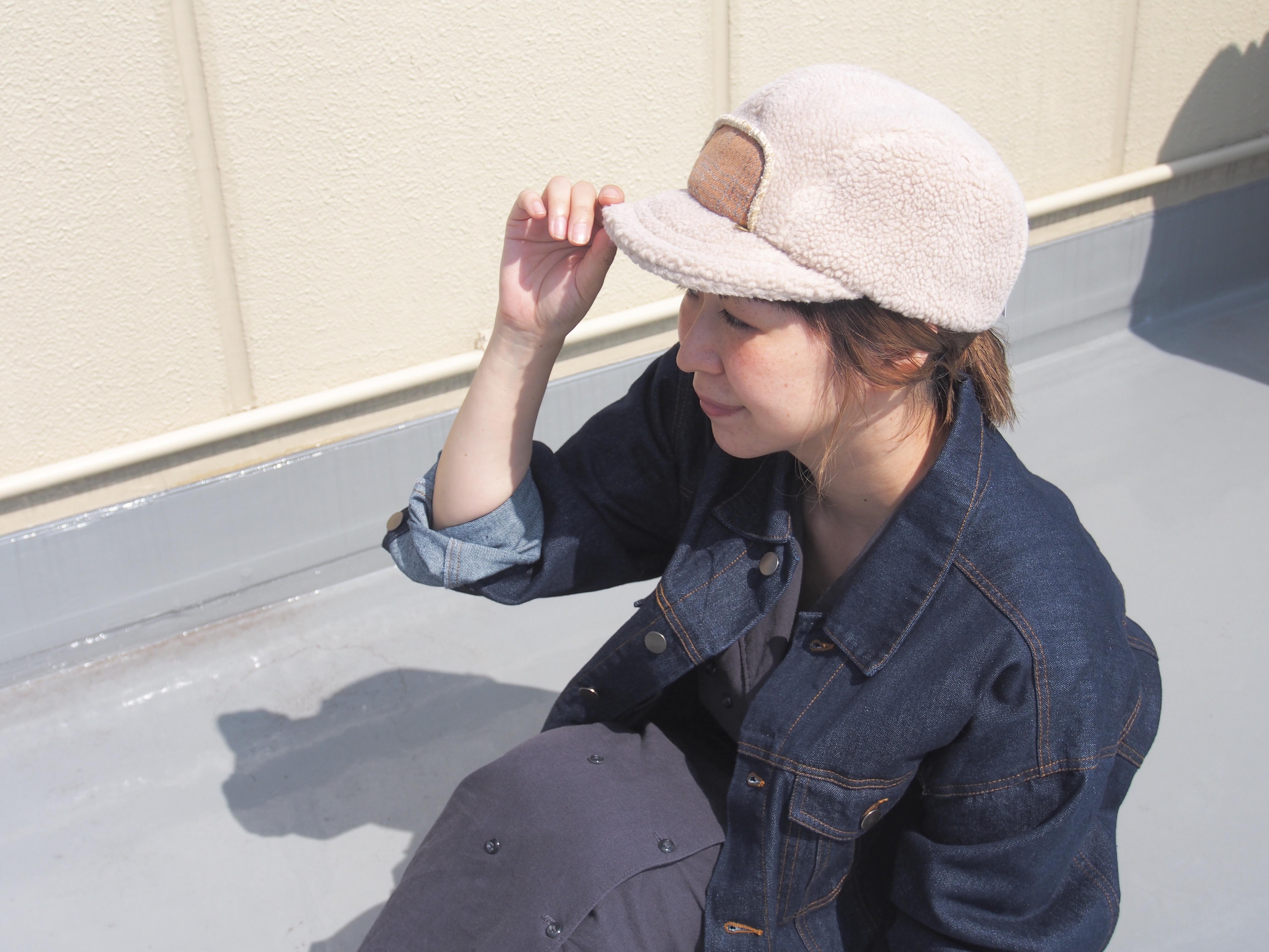 【NEW ARRIVAL】今季トレンドのボアキャップ登場☆