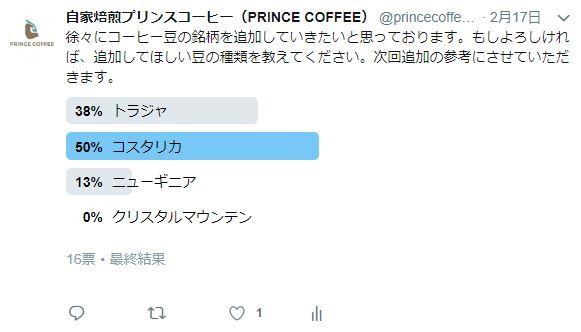コーヒー豆【コスタリカ】の販売を開始いたしました。