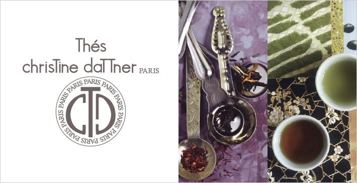 フランス パリで人気の紅茶シリーズ「Christine Dattner(クリスティーヌ・ダットナー」