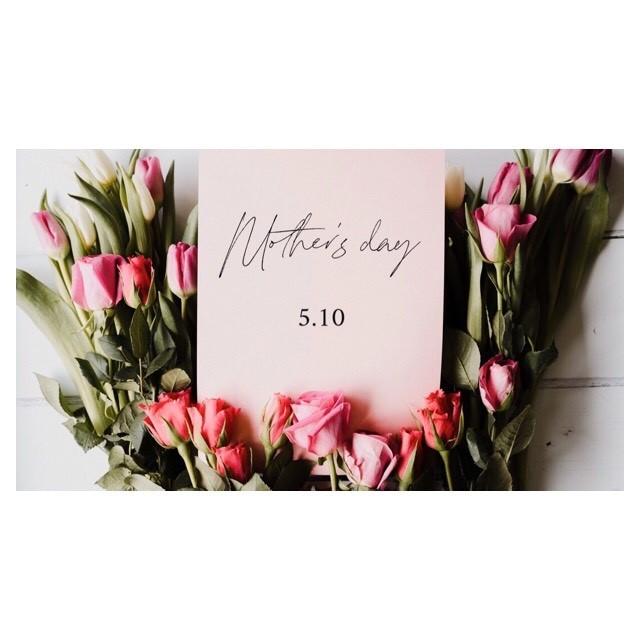 Happy  Mother's day !オンラインストアでもプレゼント対応致しております。