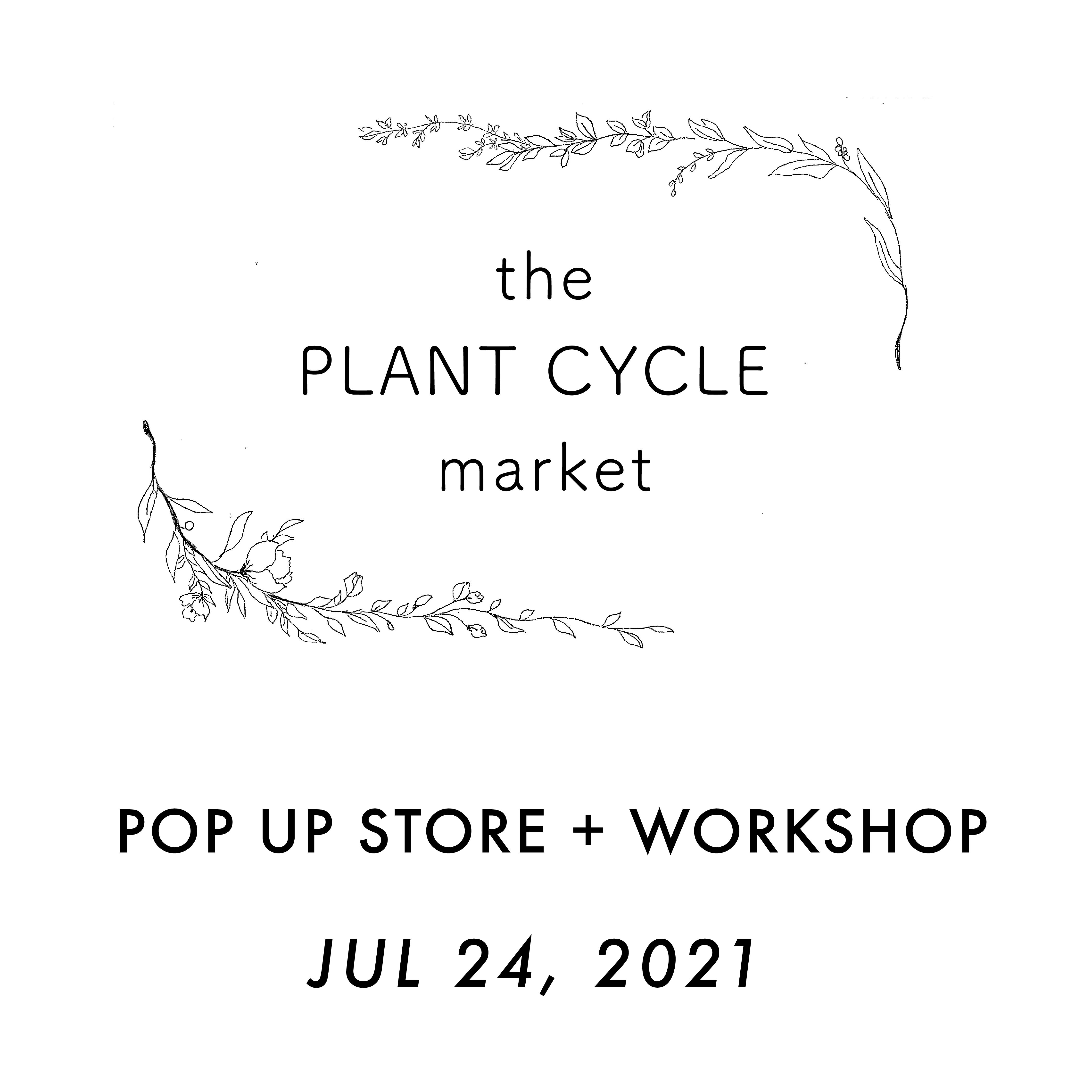 7月24日 the PLANT CYCLE market 開催@大阪