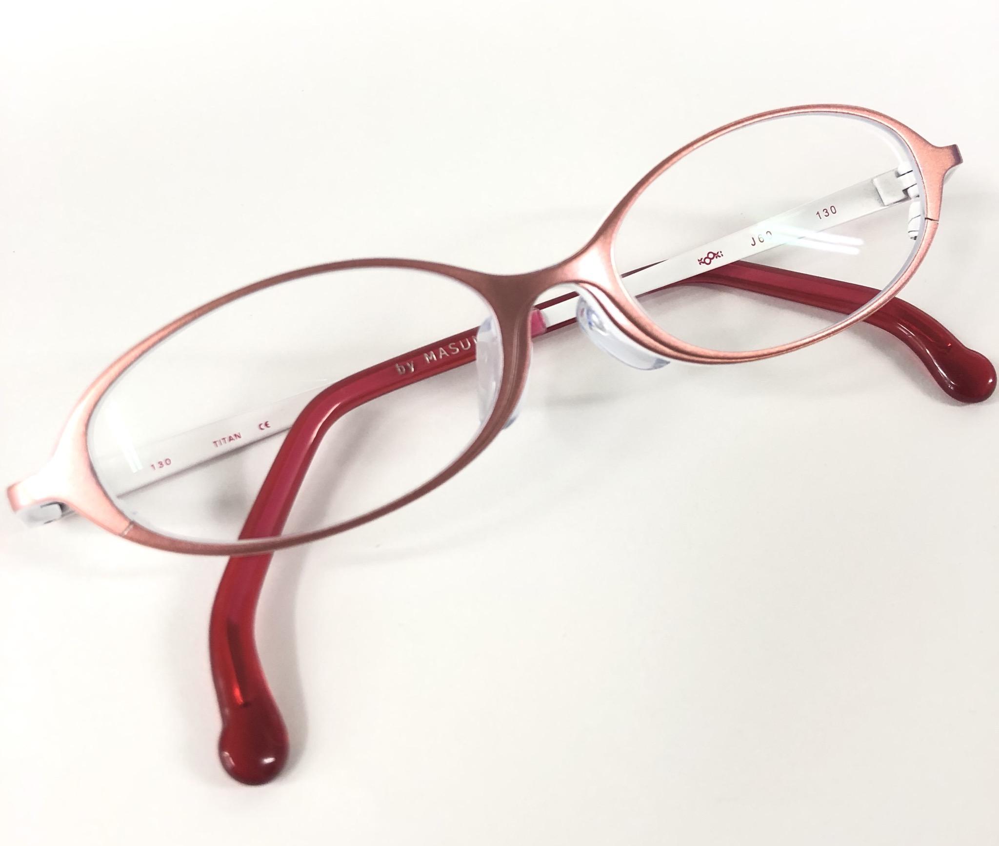 本日のメガネは…