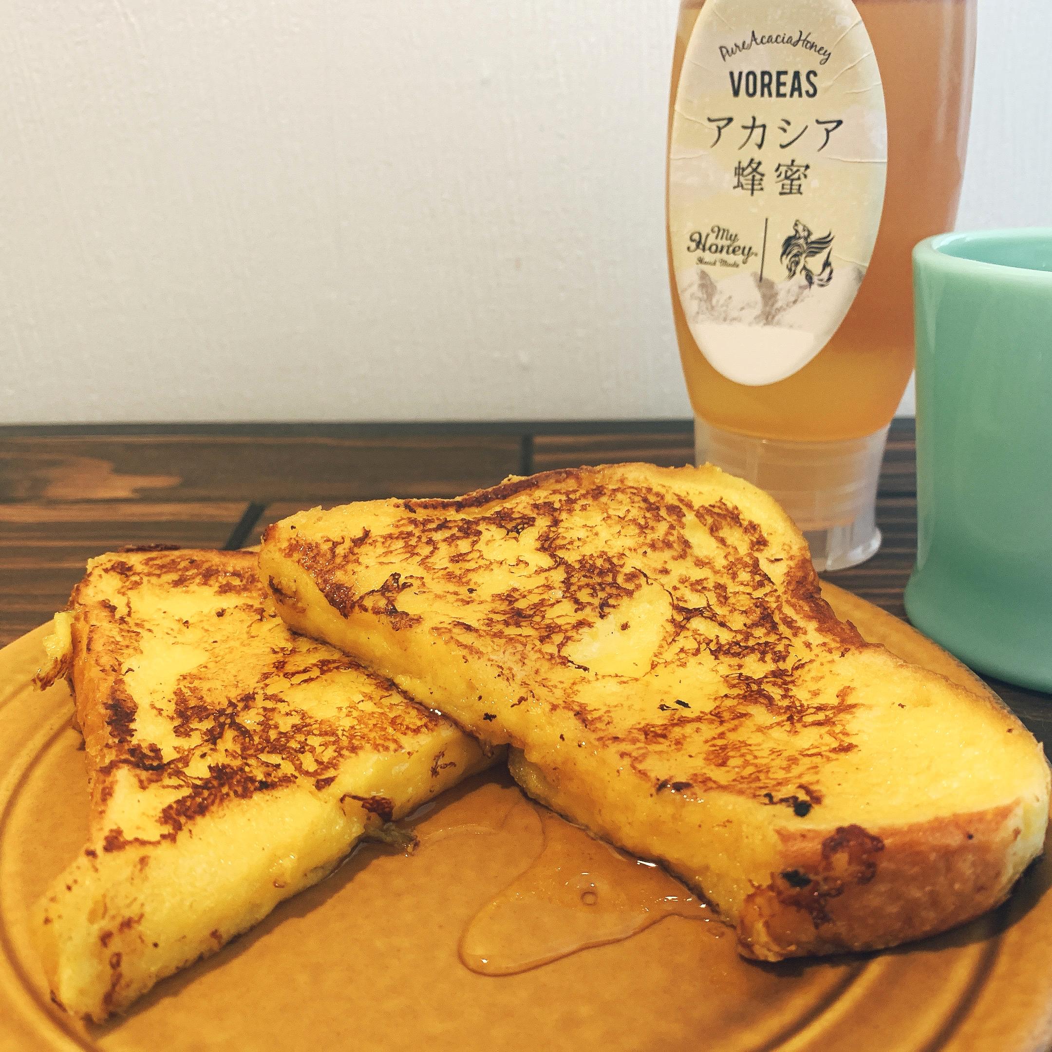 ハチミツのアレンジレシピ