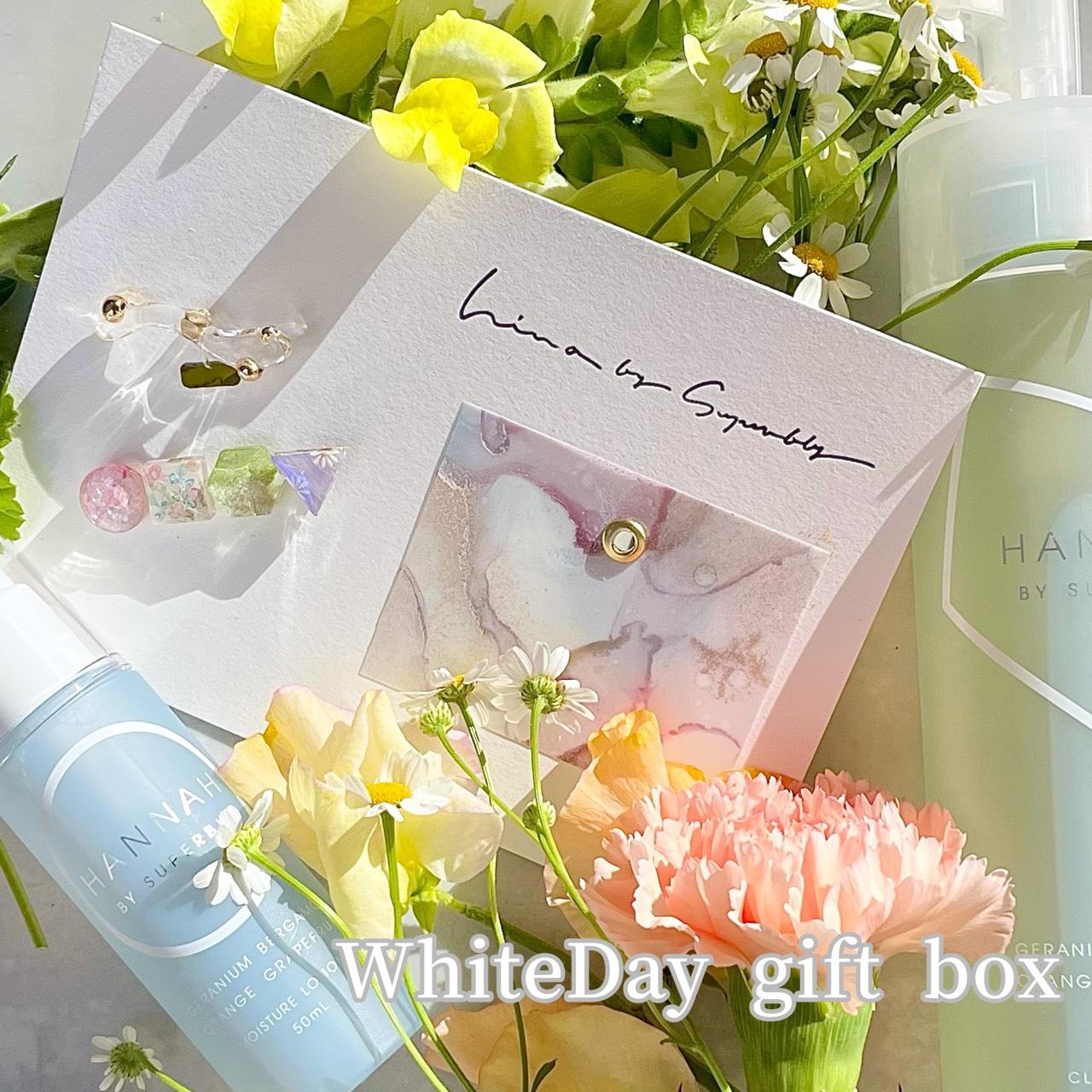〈 期間限定 〉「HANNAH×hina」 White Day gift box が登場.
