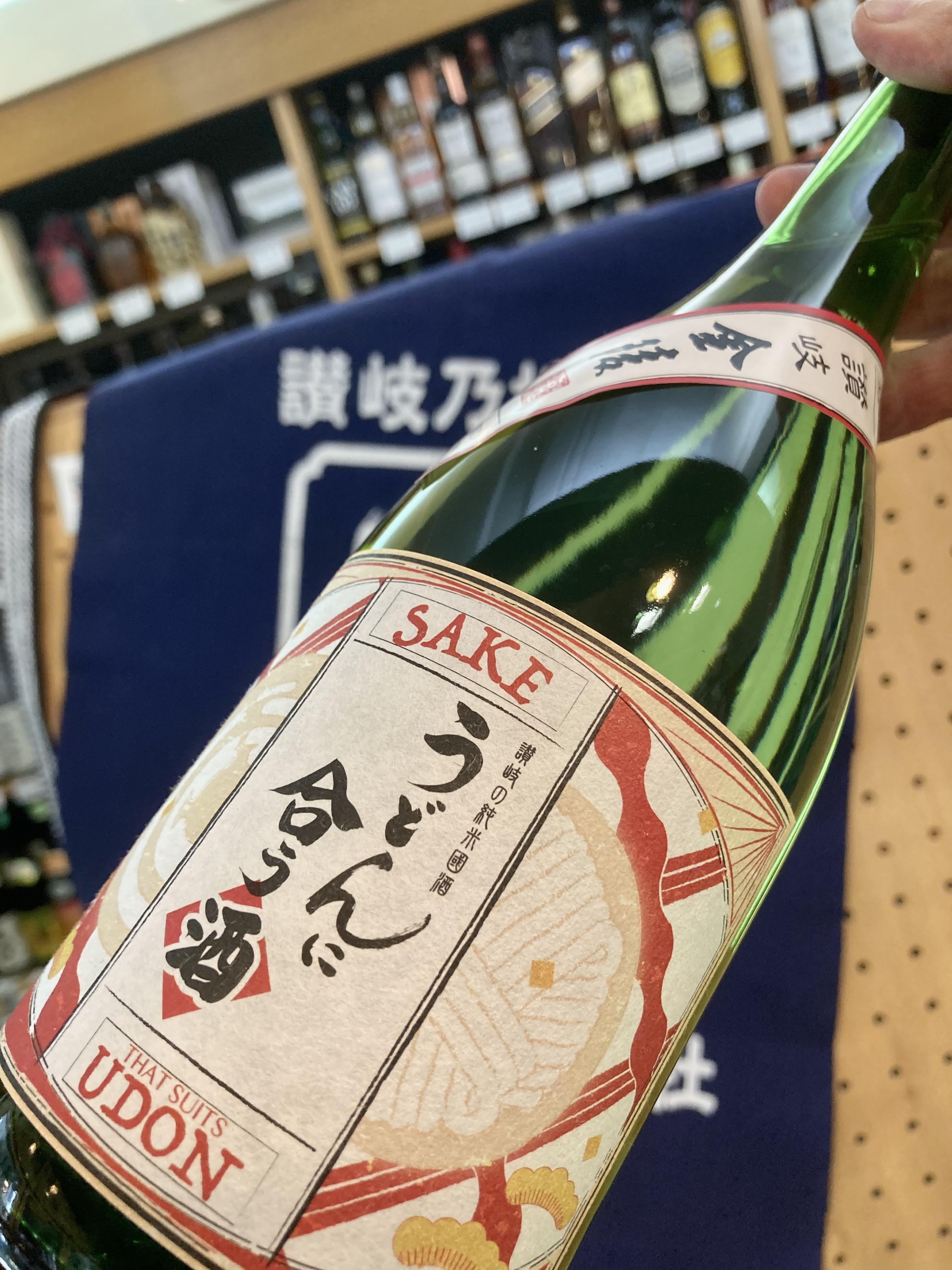 """""""うどん県"""" ならではの日本酒! 最後は香川県【西野金陵】さんの… 『金陵 うどんに合う酒』"""