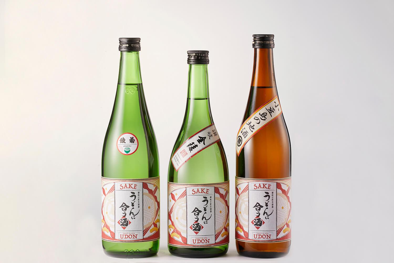 """""""うどん県"""" ならではの日本酒がリニューアル新登場! 『うどんに合う酒』"""