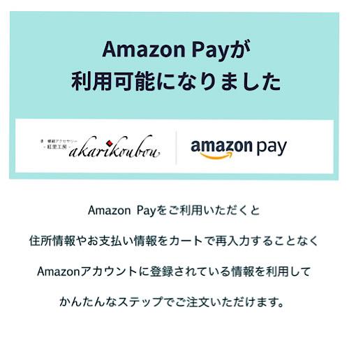 Amazon Payが利用できるようになりました