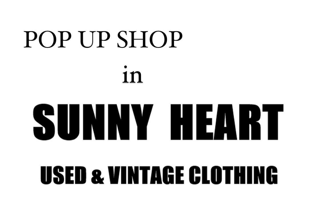 3月13日(土)・14日(日) 2日間限定!POP UP SHOP IN 『SUNNY HEART』