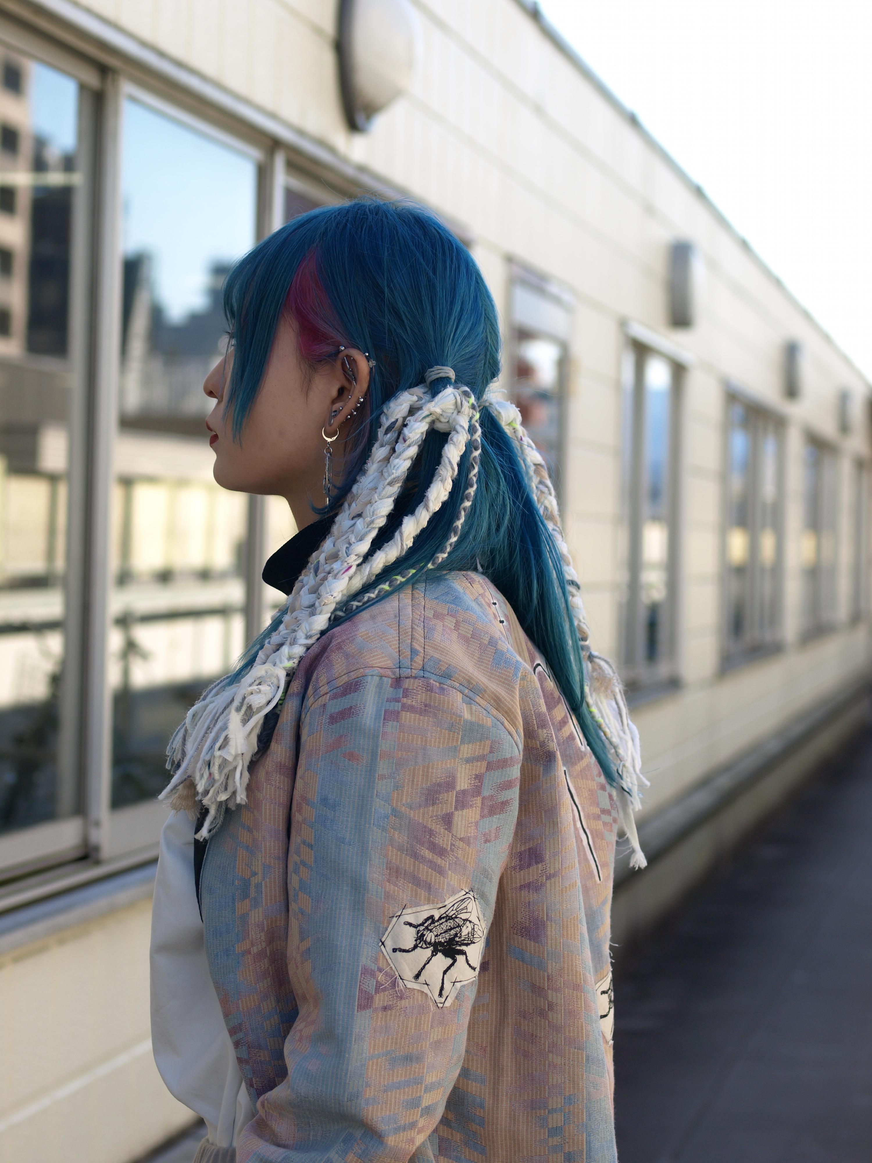 braidsヘアゴムの使い方