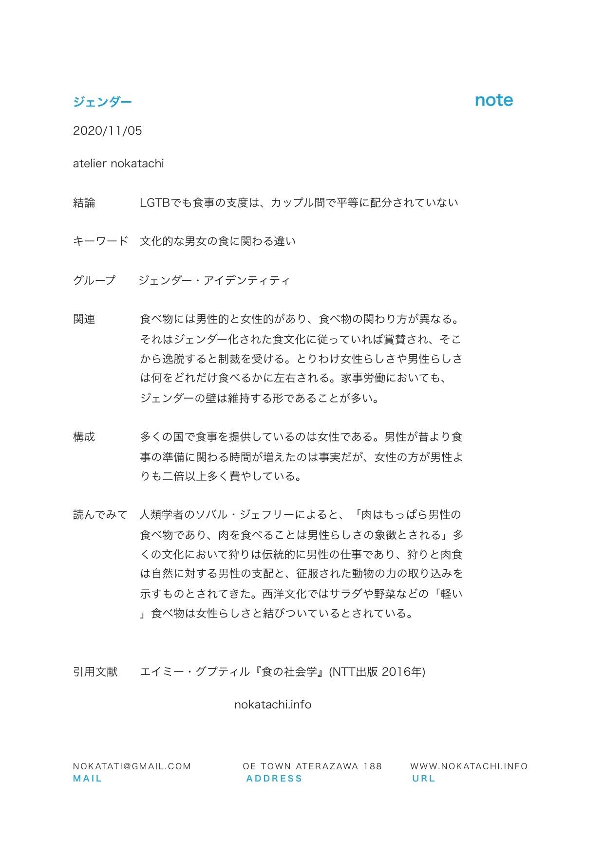 【レポート】食の社会学