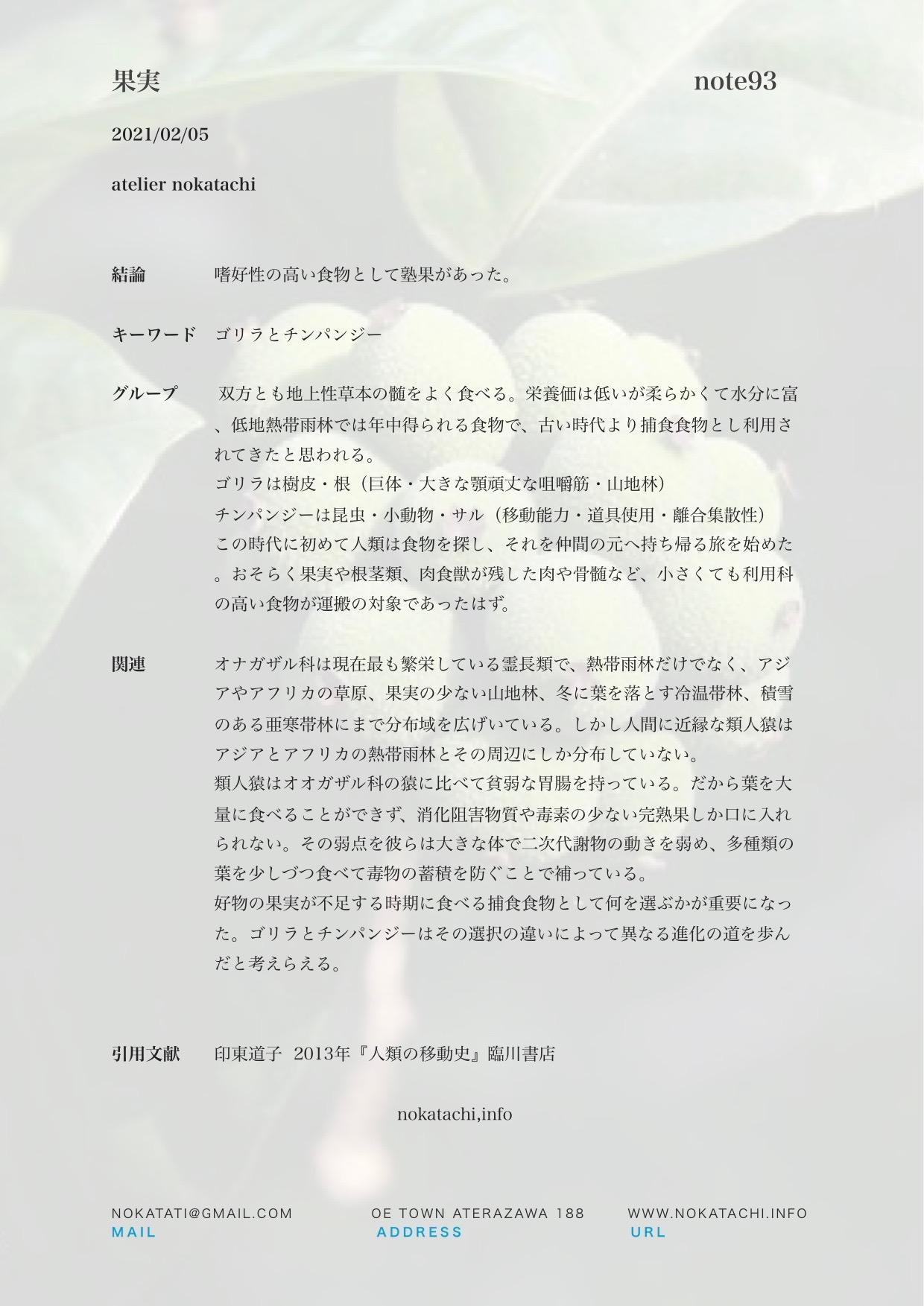 【レポート】果実