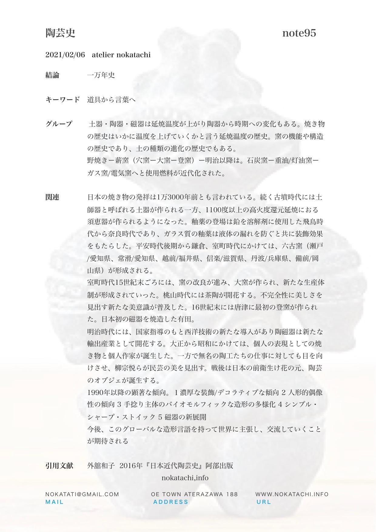 【レポート】陶芸史