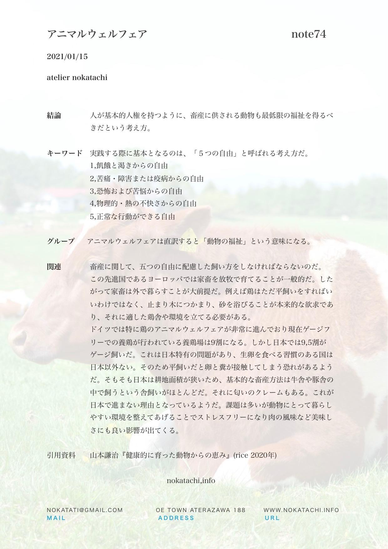 【レポート】アニマルウェアフェア