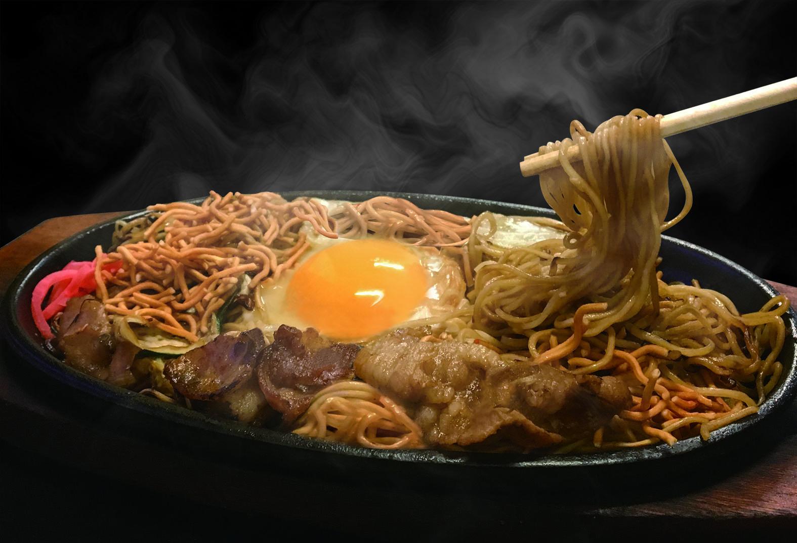 KENZO cafeの「博多焼きラーメン」の作り方