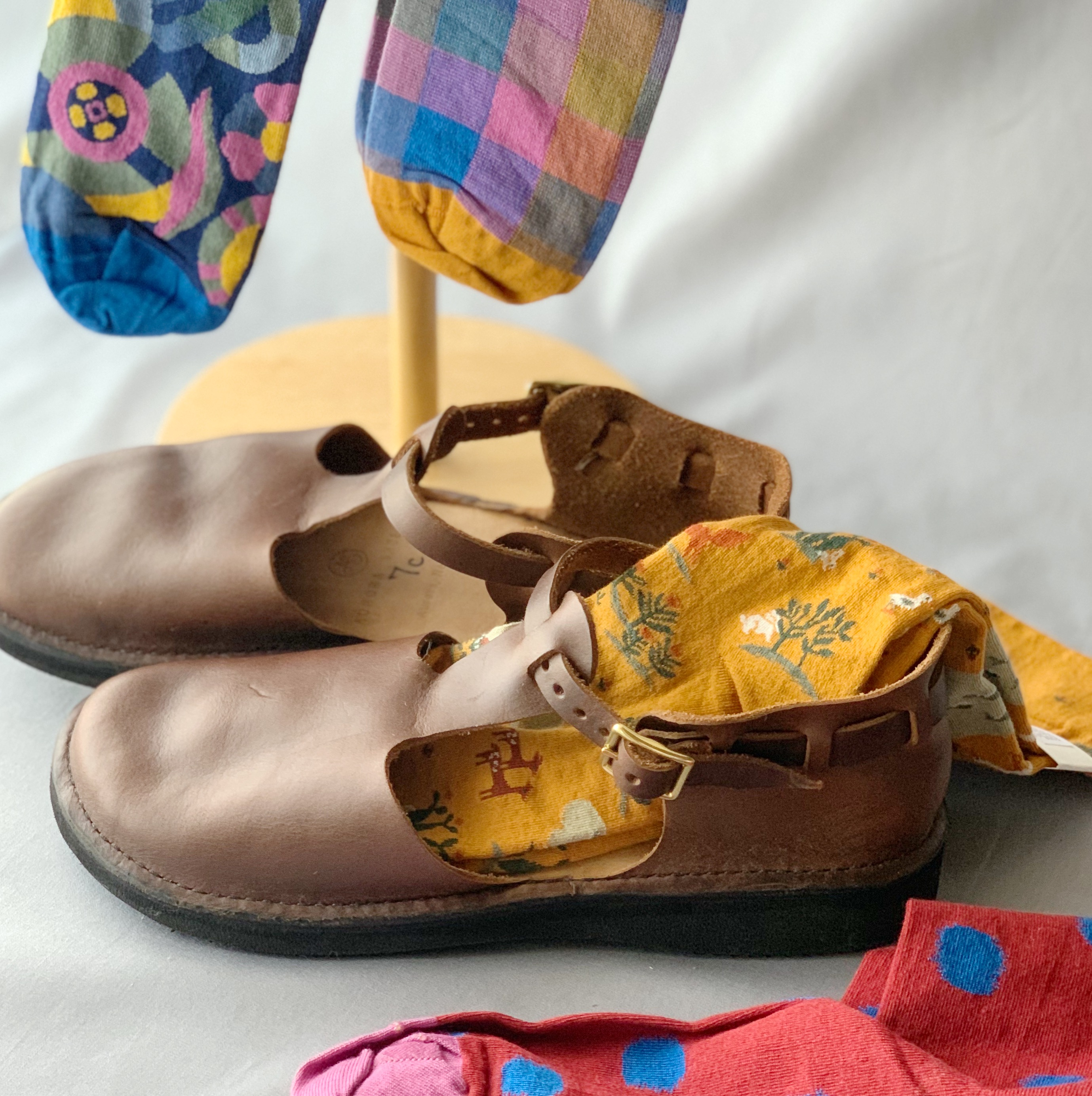 履き込むほどに馴染む一足、オーロラシューズ (サイズ・お手入れ方法について)