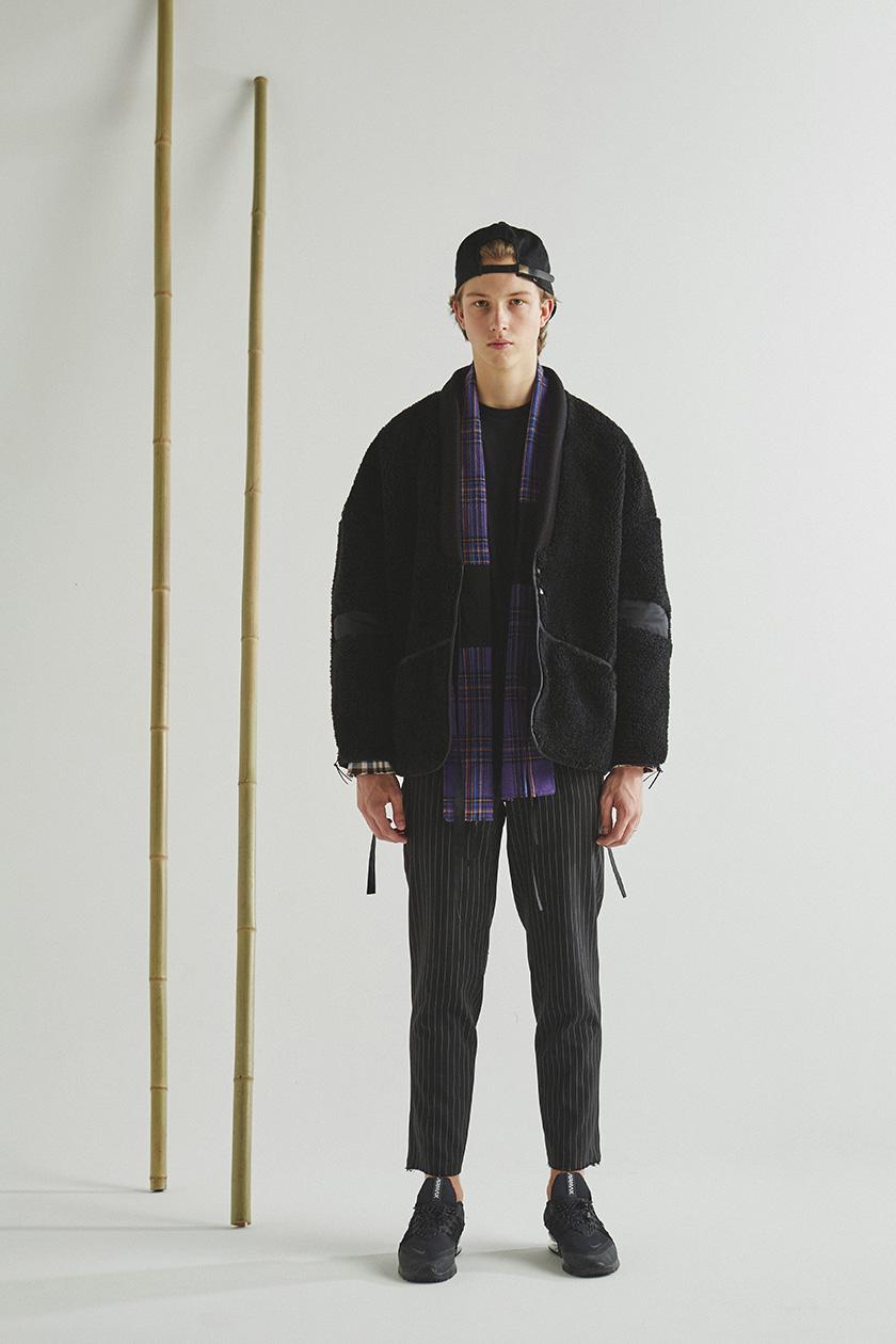 Tux Haori Fleece Jacket STYLE