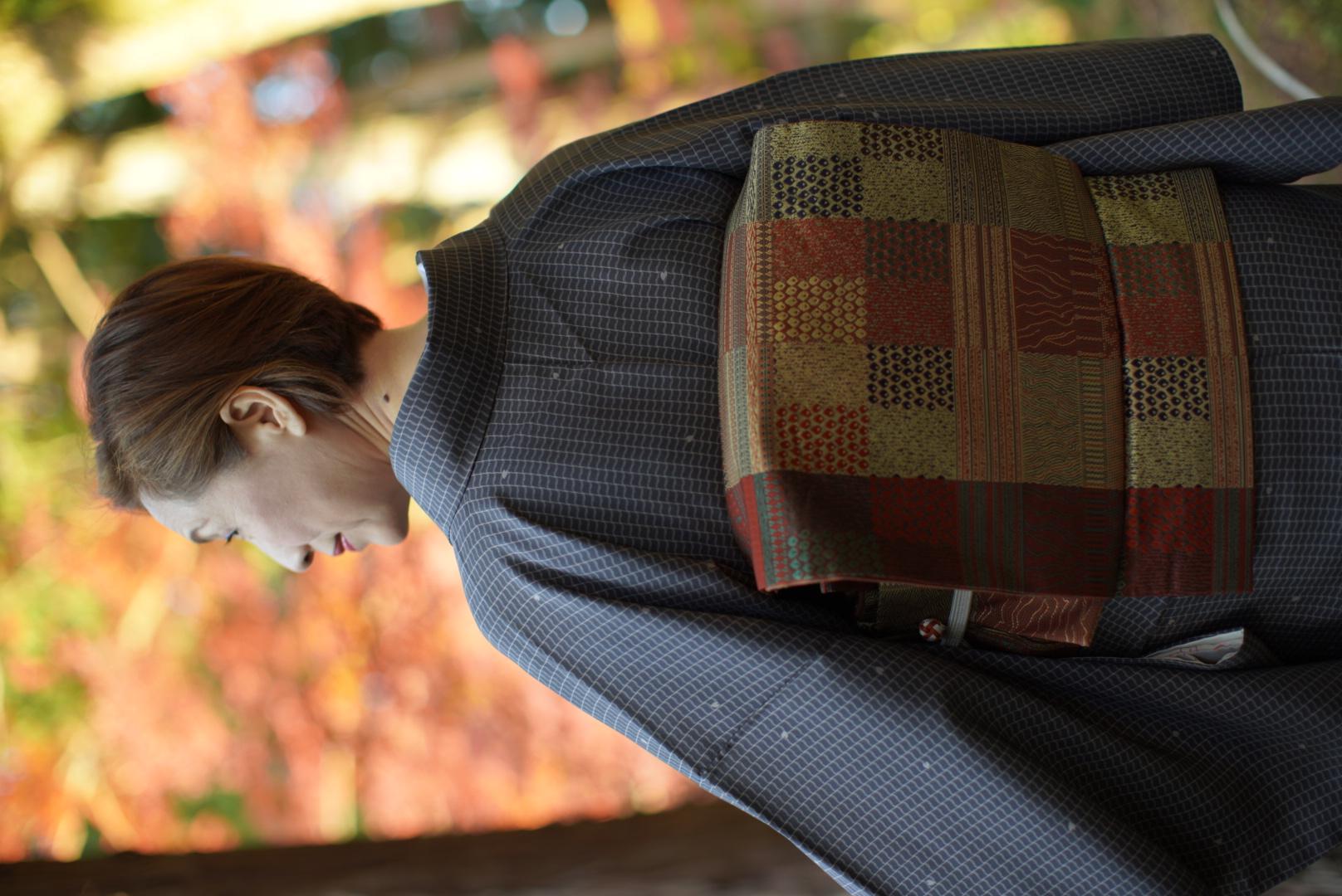 袋帯・二重太鼓の作り帯
