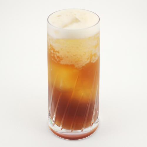 ◆おうちでオリジナルコーヒーカクテル①メイプルコーヒーハイボール