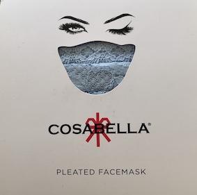 【Pick Up】洗ってくり返し使おう!COSABELLA 総レースマスク