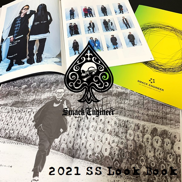 『SMACK ENGINEER / スマックエンジニア』2021SS LOOK BOOK 入荷!!