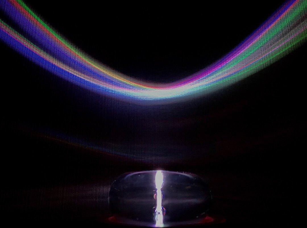 クリスタルトーラスでお部屋に虹をかける方法  ※6/10追記