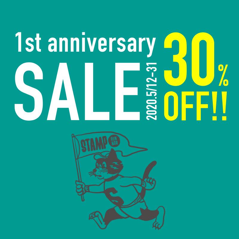 STAMP RUN & CO  1st anniversary SALE!!