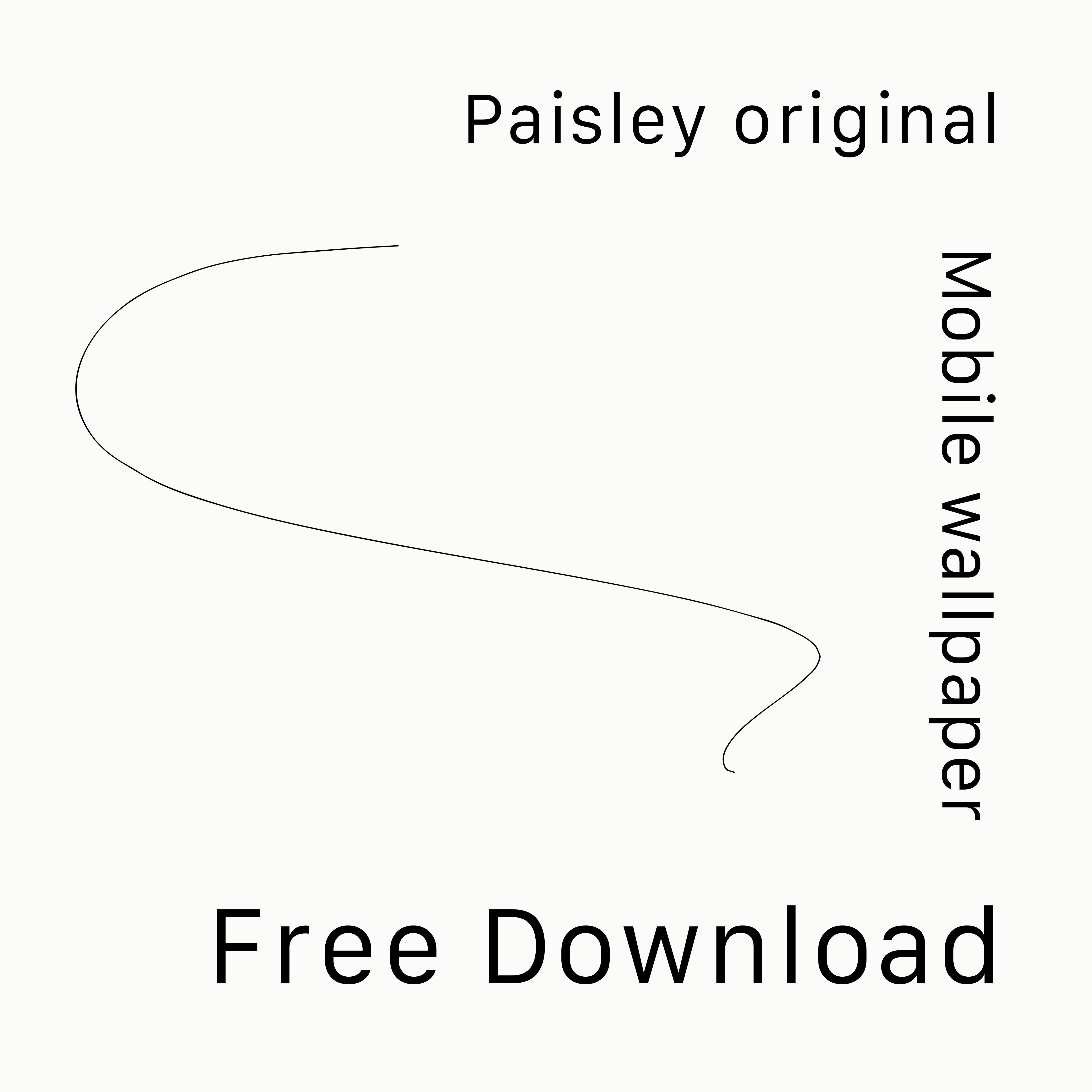 Paisley original Mobile wallpaper Free Download.