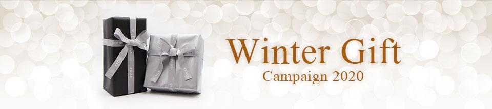 WINTER GIFT【ラッピング無料キャンペーン!】12月8~26日まで