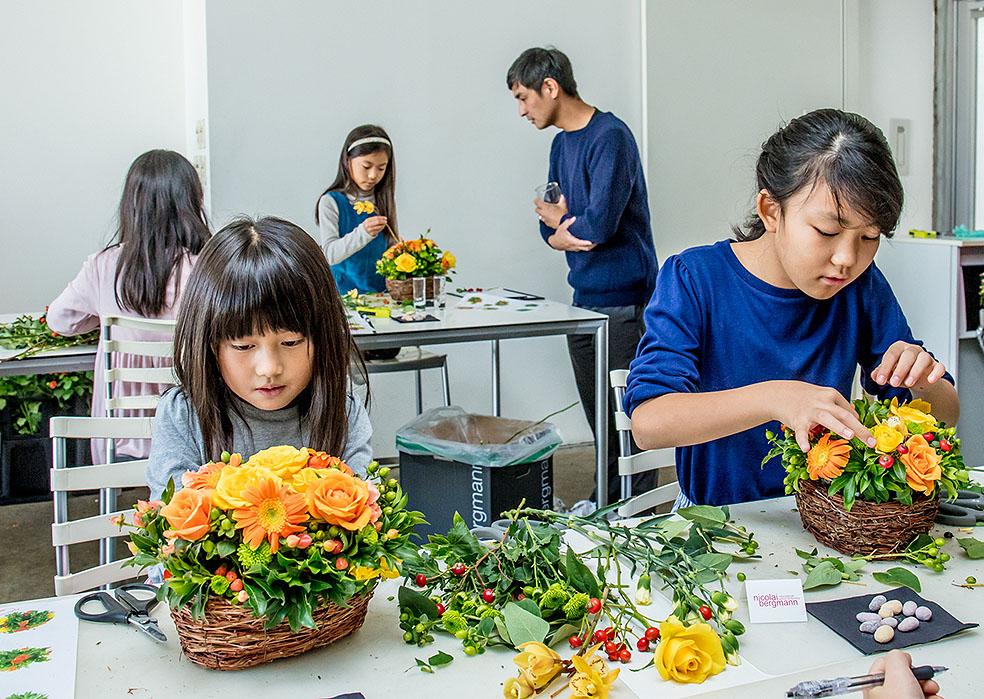 【北欧イベント】夏休み限定フラワーボックス&親子フラワースクールを開催!