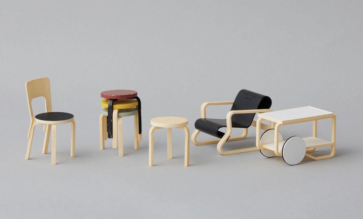 アルヴァ・アアルトの名作北欧家具がガチャで発売!!