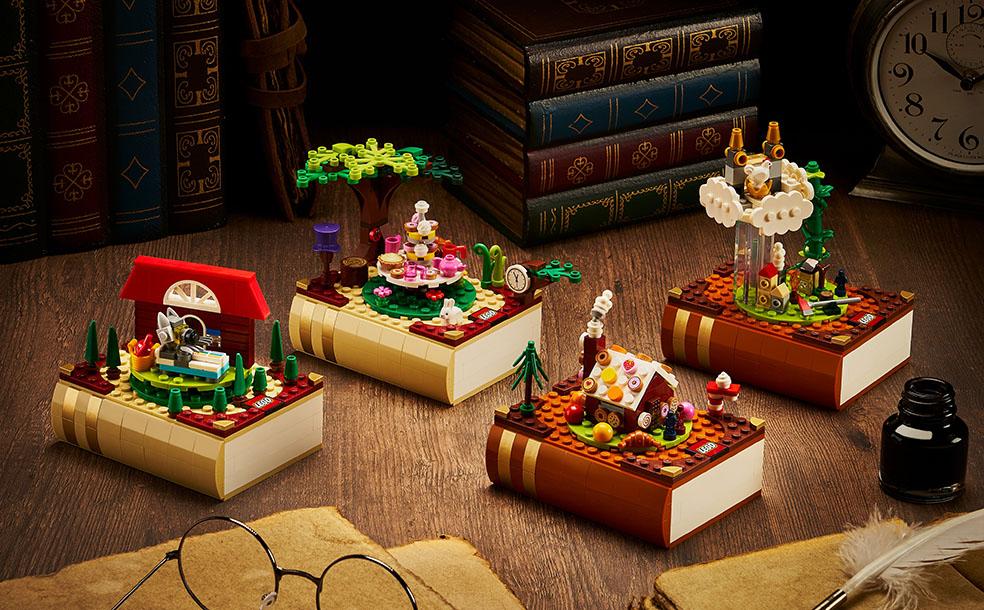 読書の秋に!限定非売品の「レゴ®童話セット」が貰える特別なキャンペーン開催!