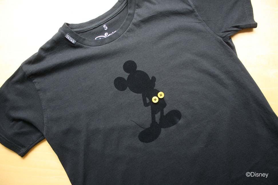 ディズニー好きのための超オシャレなデザインTシャツをininkがコラボ。