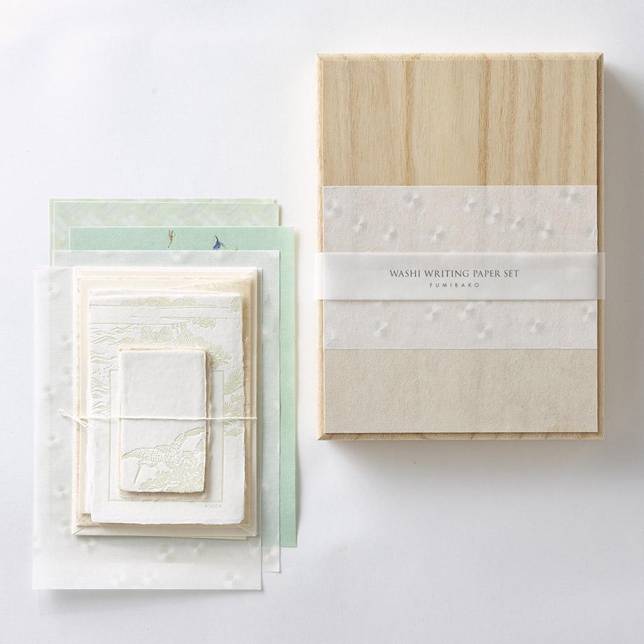 『月刊手紙舎』6月号に和紙の文箱を出品中です