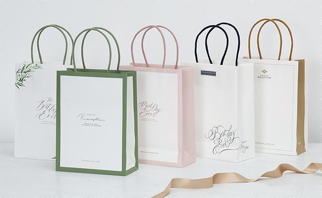 【NEW】引き出物宅配を利用するなら、ゲスト想いのアイテム『ペーパーバッグ』がおすすめ♪
