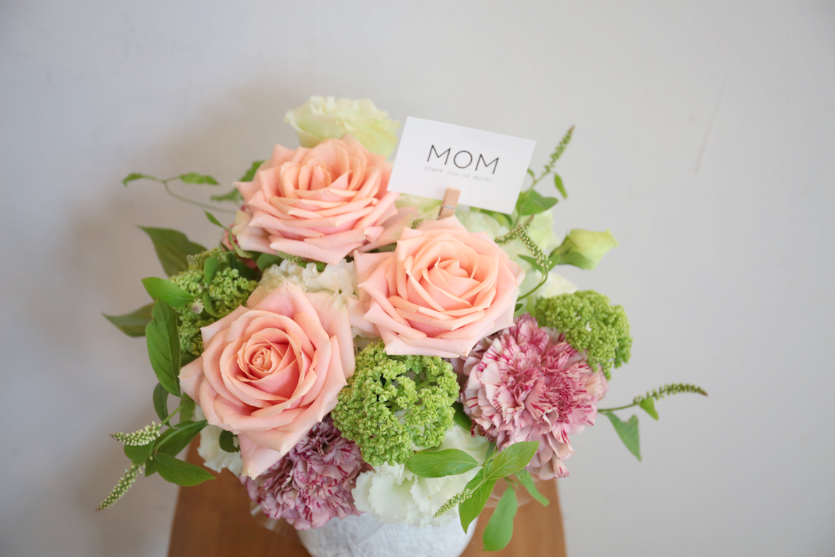 【Mother'sDay】母の日フラワーギフトのご案内
