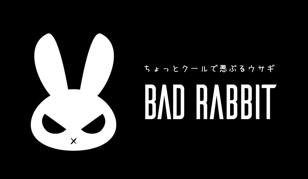 【SALE】 BAD RABBIT オリジナルTシャツ10%OFF 8月31日まで