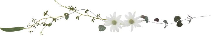 オーダー制作: ツインテール用のお花のヘアゴム