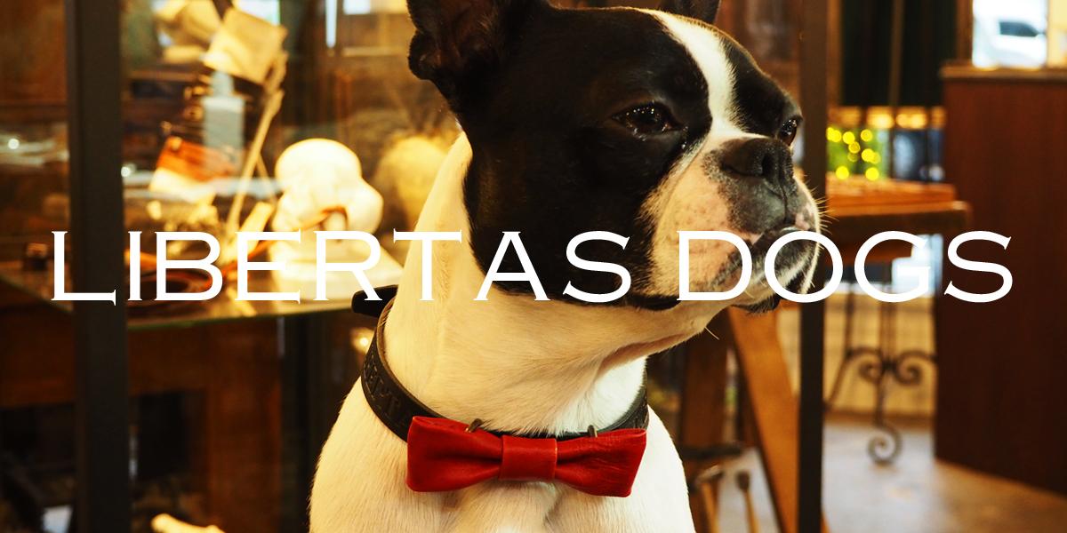 ドッグアクセサリー「LIBERTAS DOGS」 リリース