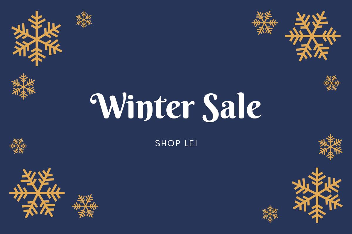 Winter Saleのお知らせ♪