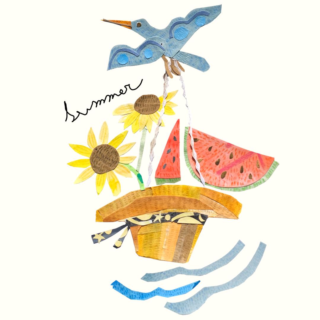 【Monthly Greetings】夏の贈り物